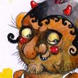 Diabeł Smętek - ilustracja dla dzieci - legendy polskie